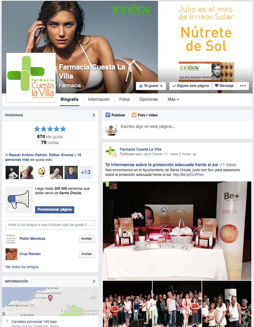 Farmacia Cuesta La Villa - Facebook