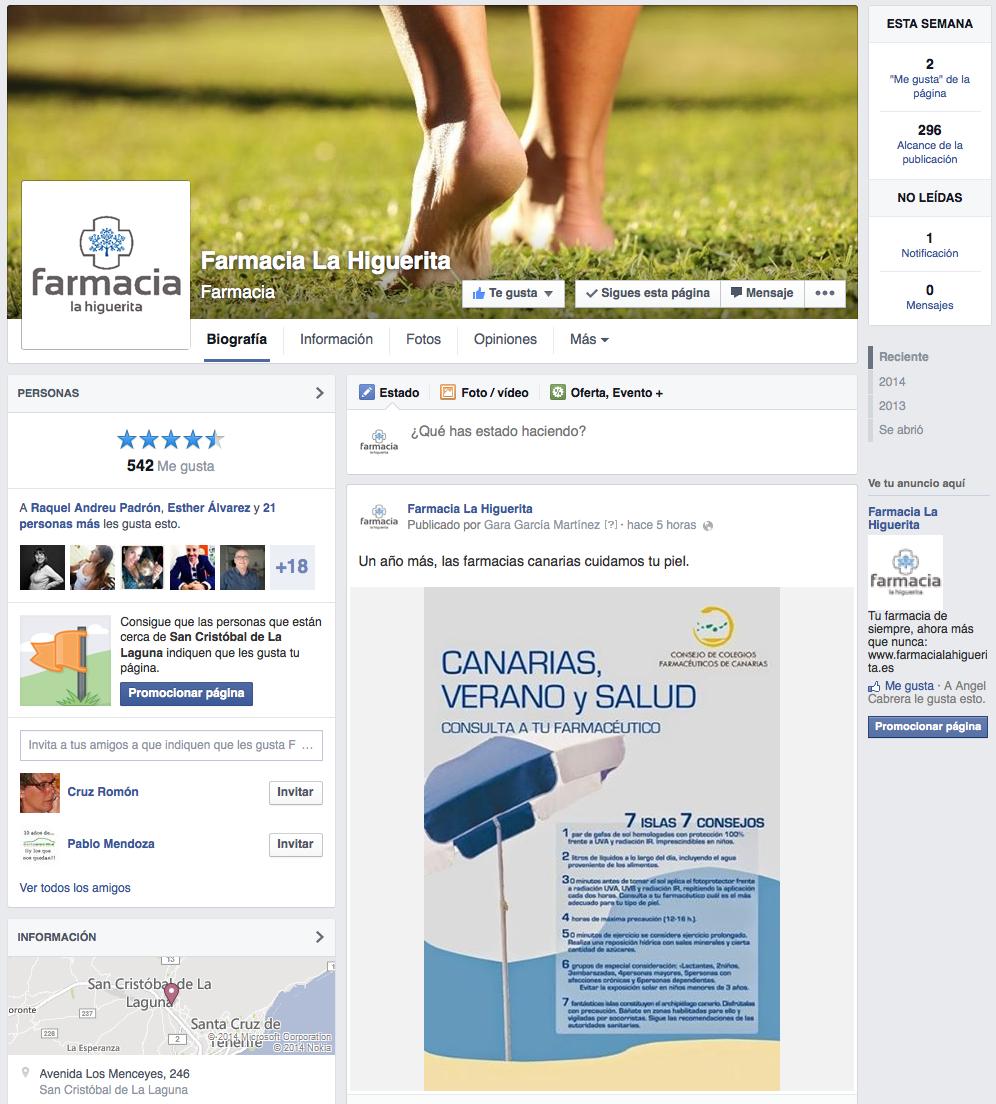 Farmacia La Higuerita - Facebook