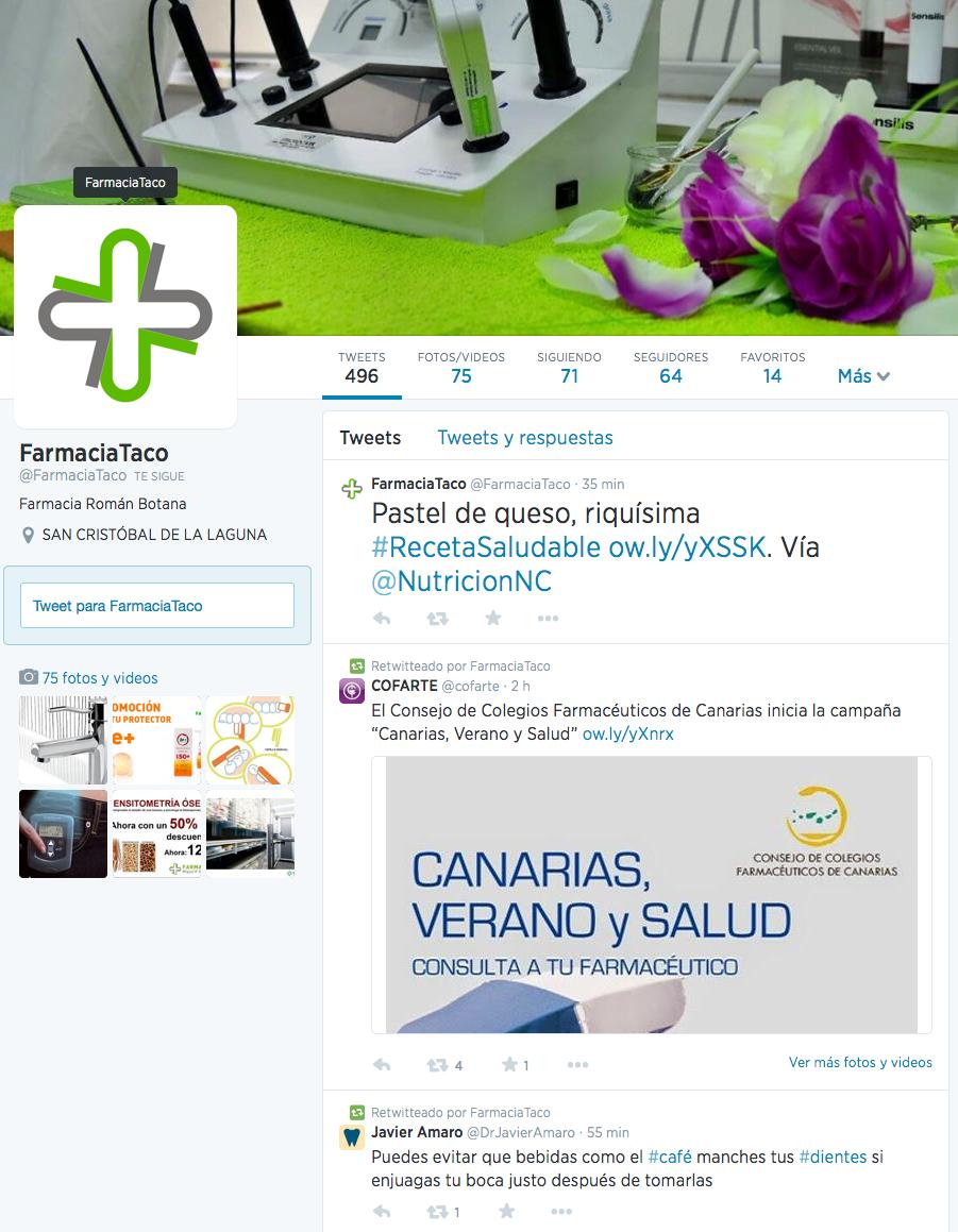 Farmacia Taco - Twitter