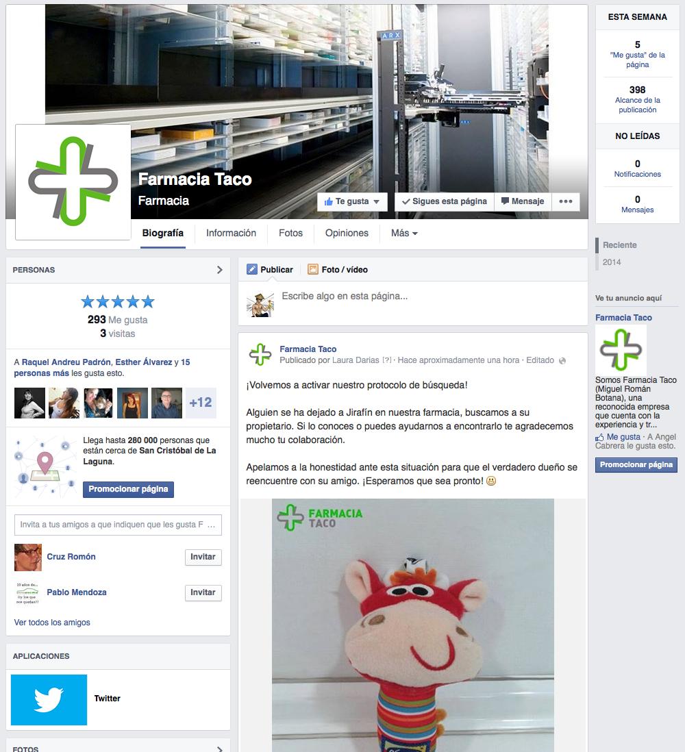 Farmacia Taco - Facebook